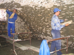 Gewölbekeller sanieren  Sanierung